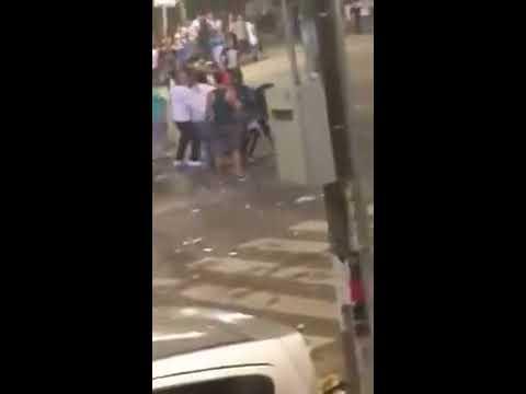 pelea en la 66 feria de cali 2015