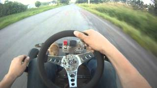 getlinkyoutube.com-RM125 Drag Kart - Custom Built - Top speed 110km/hr+