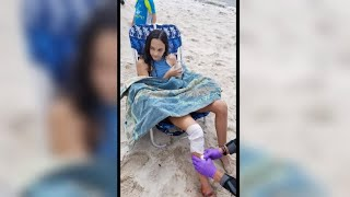 Children bitten in New York's first apparent shark attack in more than 60 years width=