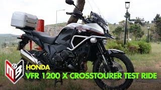 getlinkyoutube.com-Honda VFR 1200 X CROSSTOURER Test-ride