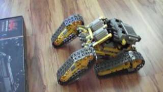 getlinkyoutube.com-Lego Technic Off Road robot r/c