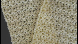 Beautiful Easy Crunch Shell Stitch Scarf Video