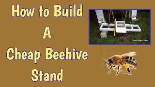 getlinkyoutube.com-Cheap Multiple Bee Hive Stand