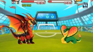 getlinkyoutube.com-Dragon City: All World Cup Battles [Ney Dragon Quest]