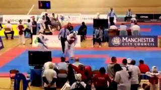 getlinkyoutube.com-Taekwondo National fight highlights