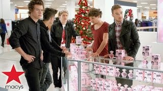 "one direction macy's commercial - hairstyle - macy's presents ""what's in store?"" tv ad"