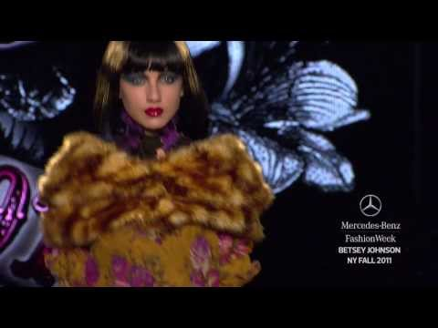 Betsey Johnson FALL 2011 COLLECTION, MERCEDES-BENZ FASHION WEEK