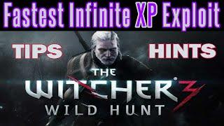 getlinkyoutube.com-The Witcher 3 - Infinite XP Level Up Glitch | Patch 1.20 | Unlimited XP Exploit | Still Works