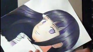 getlinkyoutube.com-Desenhando a hinata shippuden (Naruto)