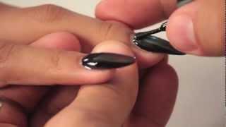 getlinkyoutube.com-mani•Q color - Snake Skin Design