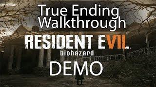 getlinkyoutube.com-Resident Evil 7 Demo - How to get True Ending - Spoilers--Gameplay