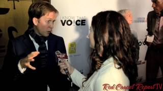 "getlinkyoutube.com-James Arnold Taylor at the World Premiere of ""I Know That Voice"""