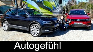 getlinkyoutube.com-Volkswagen Tiguan onroad/offroad FULL REVIEW test driven all-new new neu VW SUV 2016/2017