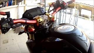 getlinkyoutube.com-Honda Grom-msx-125 แต่งดำแดง 2015 #4