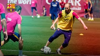 getlinkyoutube.com-Iniesta's magic is not just for matches