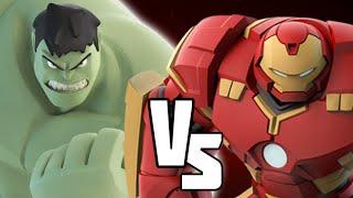 getlinkyoutube.com-HULK VS HULKBUSTER - Marvel Battlegrounds