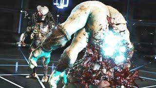 getlinkyoutube.com-Mortal Kombat X Predator All Fatalities, 5 Brutalities with X Ray and Ending Fatality 【HD】