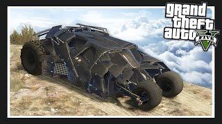 getlinkyoutube.com-ULTIMATE BATMAN CAR!! The 'Tumbler' (GTA 5 Mods Showcase)