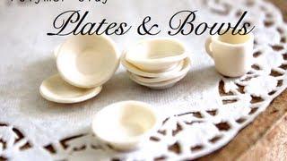 getlinkyoutube.com-Bowls & Plates ~ Polymer Clay Tutorial