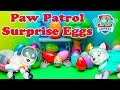 PAW PATROL Nickelodeon Surprise Eggs Search for RoboDog Kinder Surprise Eggs paw Patrol Video