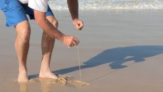 getlinkyoutube.com-How to Catch beach worms for bait | The Hook and The Cook