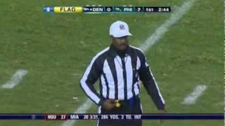 getlinkyoutube.com-Brandon Stokley Ejected For slapping Ref    Broncos vs  Eagles