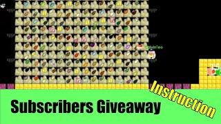 getlinkyoutube.com-Growtopia #32 5,000 Subscribers Giveaway (Instructions)