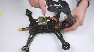getlinkyoutube.com-Robocat 270 FPV Racer Quad kit Assembly Part 3 Main Frame