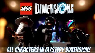 getlinkyoutube.com-LEGO Dimensions - Mystery Dimension Gameplay with all 25 Characters!!
