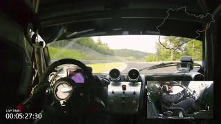 Pagani Zonda R - Nürburgring lap