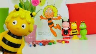 getlinkyoutube.com-Раскраска: Развивающее видео! Цвета для детей. Раскраски и Пчела Майя!