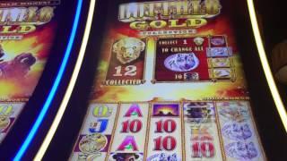HUGE WIN BUFFALO GOLD, MASSIVE WIN 10 CENT MACHINE