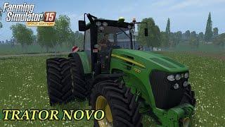 getlinkyoutube.com-Farming Simulator 15 - TRATOR NOVO DA JHON DEERE 7930- DLC GOLD EDITION
