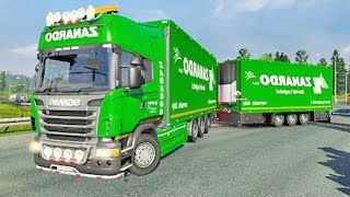 getlinkyoutube.com-Scania Tandem ETS2 (Euro Truck Simulator 2)
