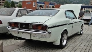 getlinkyoutube.com-Museum quality: A 1975 Toyopet Corona Mark II GSS