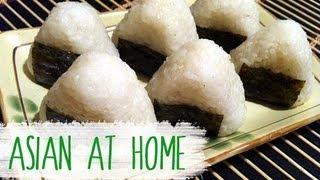 getlinkyoutube.com-Asian at Home | Rice Ball (Jumeogbap/Onigiri) Bento Idea
