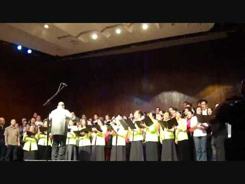 Tunay kang matapat - His Sounds with His Alumni Sounds Philippines and Manila Concert Choir