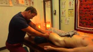 getlinkyoutube.com-Oil massage pumping techniques for the quads and glutes and lower back
