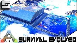 ARK: Survival Evolved - TEK TIER BASE UPGRADE! E9 ( Modded Ark w/ Pugnacia)