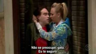 getlinkyoutube.com-TBBT - Leonard and Penny Kisses on Season One