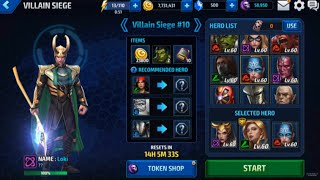 getlinkyoutube.com-Marvel Future Fight - 1.90 Villain Siege Clear (Last 3 Battles)