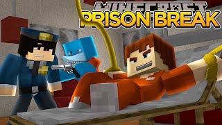 getlinkyoutube.com-Minecraft PRISON BREAK - SHARKY AND SCUBA STEVE ESCAPE!??