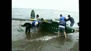 getlinkyoutube.com-Worlds Largest RC Flying Boat -- Kawanishi H8K