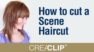 getlinkyoutube.com-How to cut a Scene Haircut- Singer Hayley Williams hairstyle! EMO style