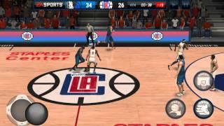 getlinkyoutube.com-NBA LIVE MOBILE: Different Dribble Move Tips & Trap Defense