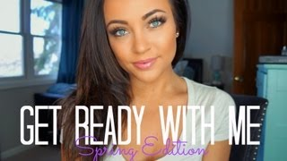 getlinkyoutube.com-Get Ready With Me! Spring Edition ♡
