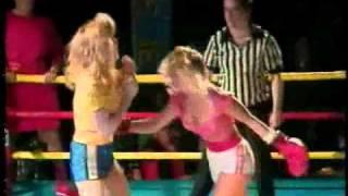 getlinkyoutube.com-Dixie (Godiva from GLOW) vs Wendy (Melinda Armstrong) Wrestling Vs Boxing Match.