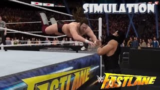 WWE 2K16 SIMULATION: Daniel Bryan vs Roman Reigns | Fastlane 2015 Highlights