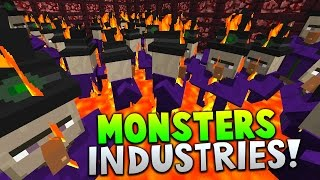 getlinkyoutube.com-THE WITCH ARMY!! | Minecraft MONSTERS INDUSTRIES with The Pack