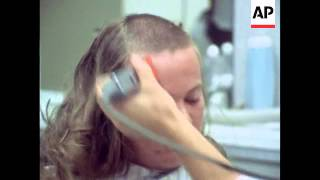 getlinkyoutube.com-Army recruits with long hair get regulation army haircuts - 1973